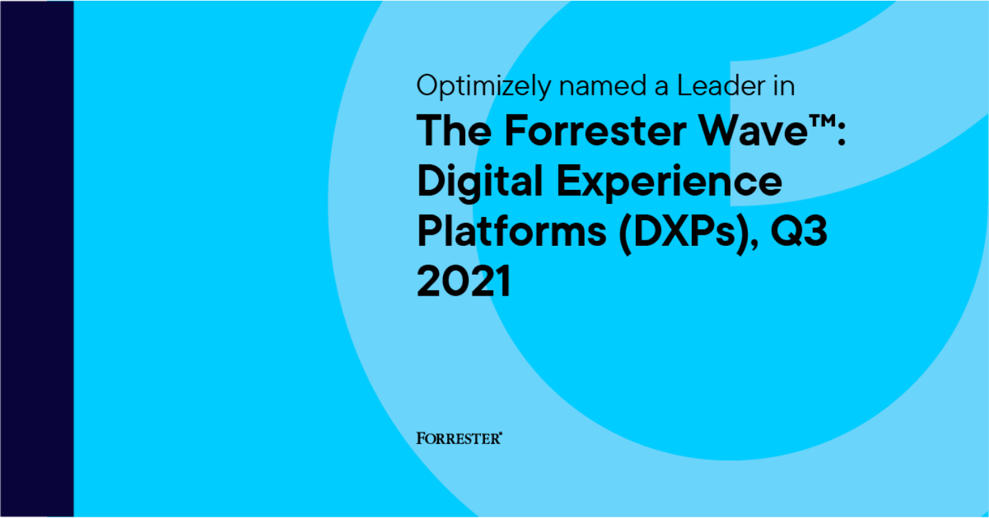 Optimizely x Forrester