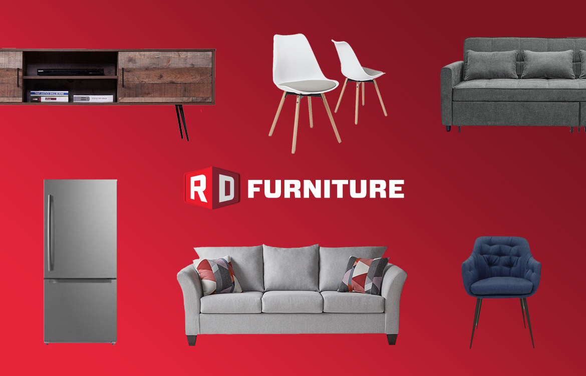 Furniture and appliances from RD Furniture