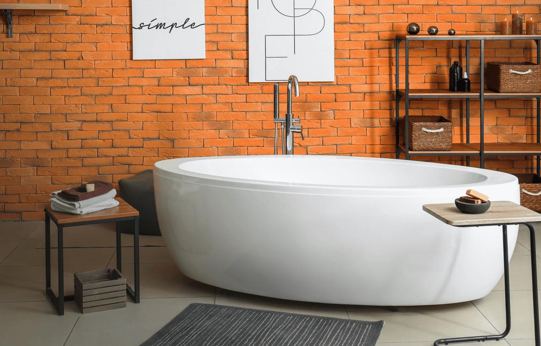 Bath from bath depot in a bathroom