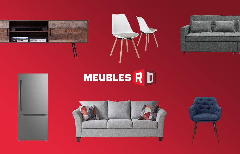 Meubles et d'appareils électroménagers de chez Meubles RD