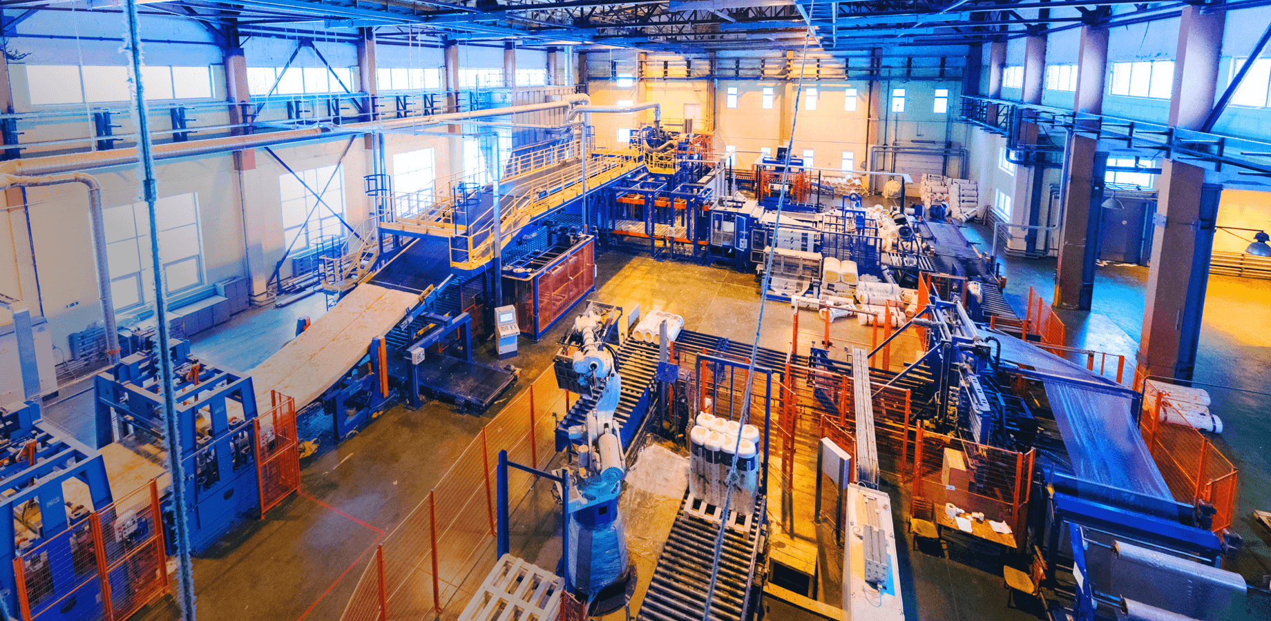 Industry Manufacturing Header