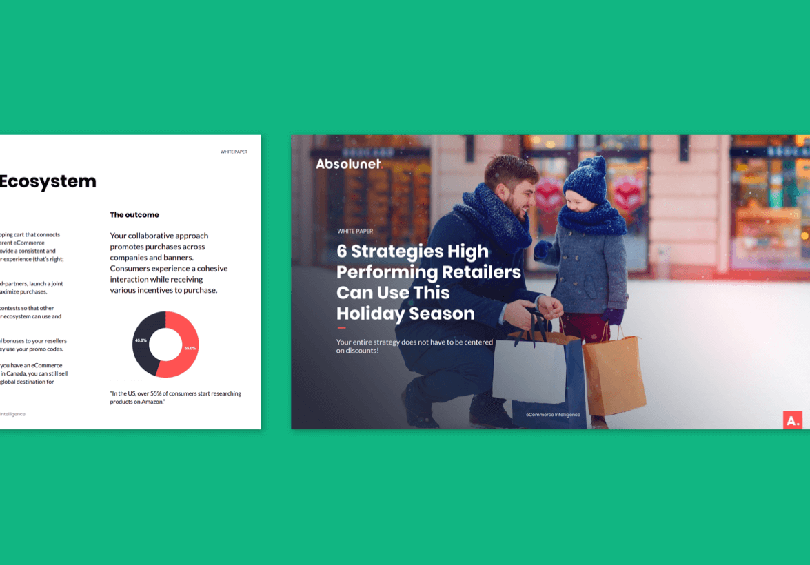 6 Strategies For High Performing Retailers This Holiday Season - Absolunet eBook