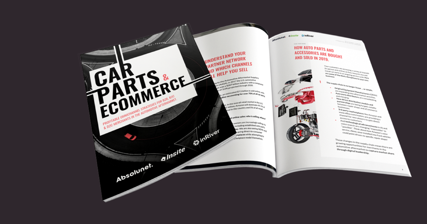 Car Parts Automotive Aftermarket and eCommerce - Absolunet and Episerver eBook