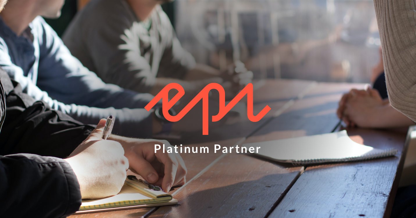Epi platinum partner badge