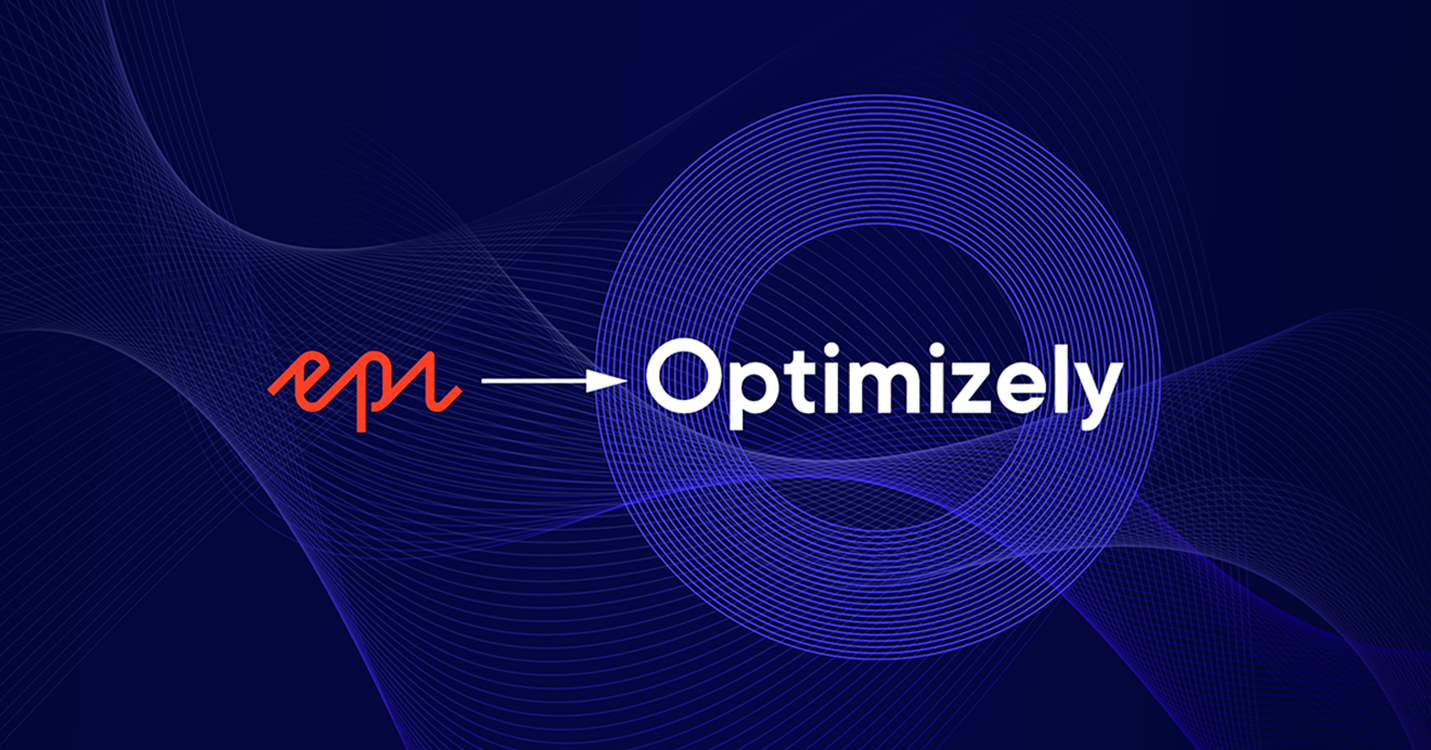 Epi et Optimizely logos