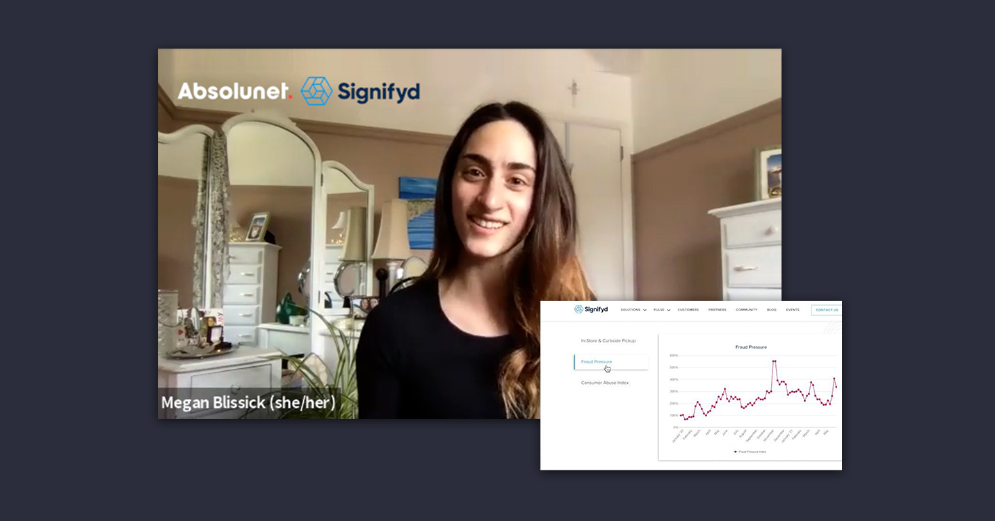Megan Blissick Interview with Absolunet and Signifyd