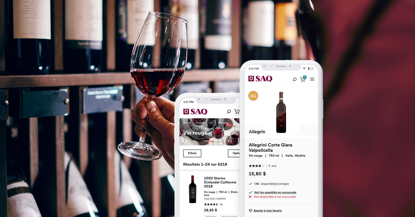 La SAQ parmi les 10 meilleures expériences en ligne